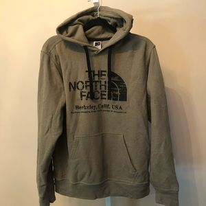 The North Face Gray Pullover Hoodie Sweatshirt (M)
